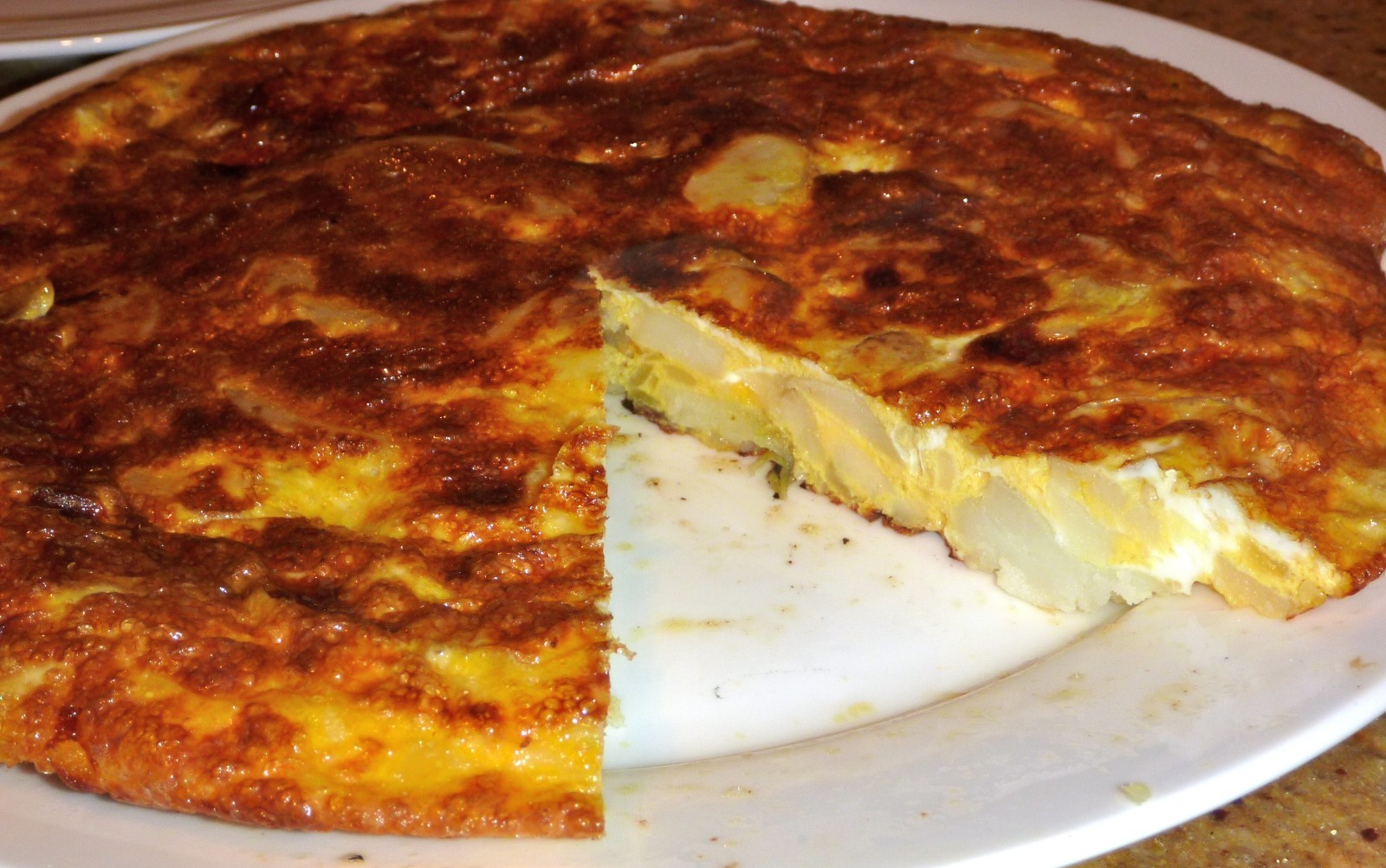 Tortilla De Patatas Spanish Omelet Claire K Creations