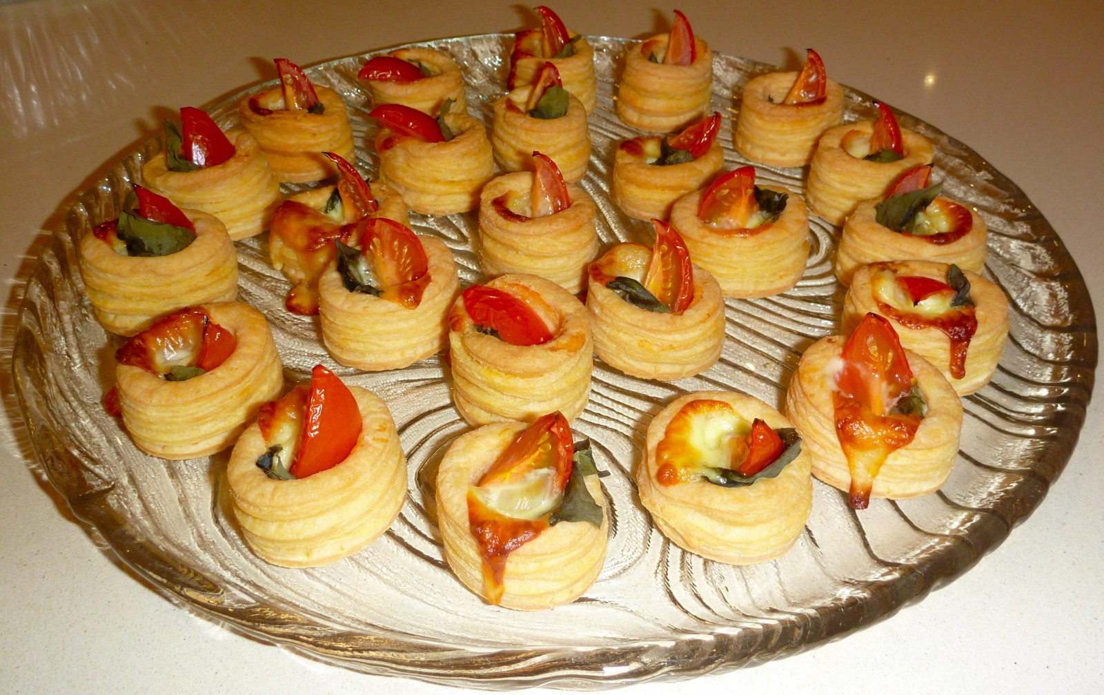 Christmas Vol Au Vents Claire K Creations