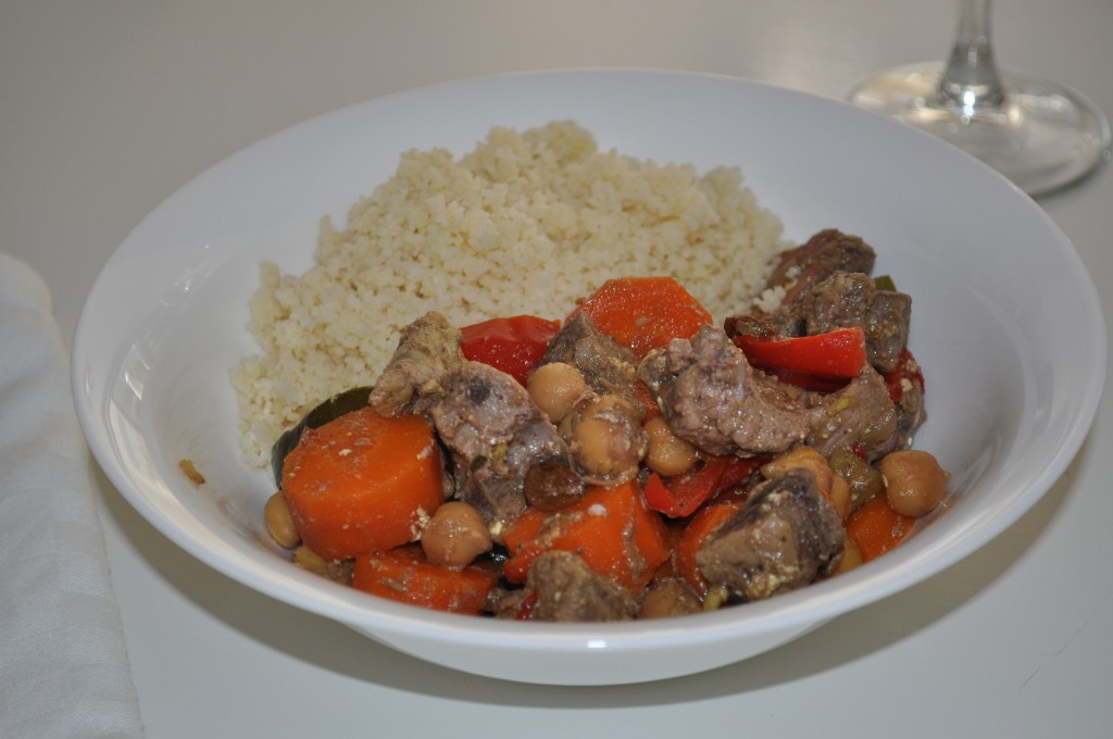 Moroccan lamb curry in the slow cooker - Claire K Creations