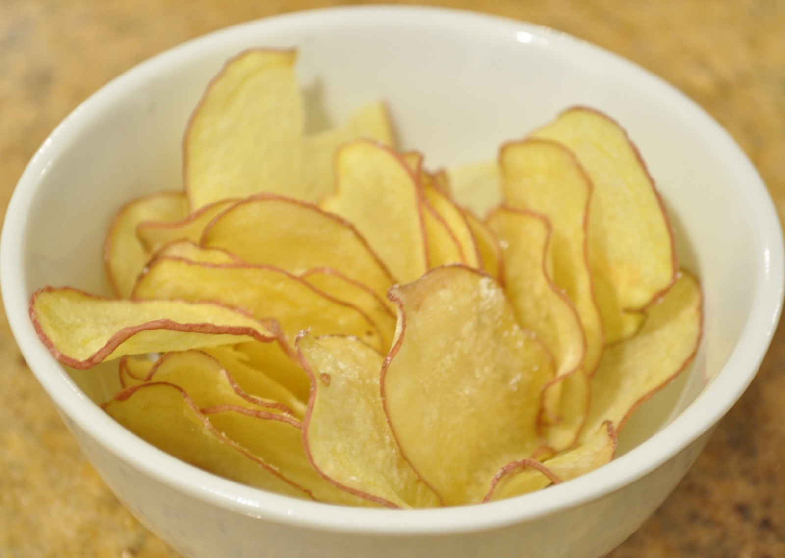 Microwave potato chips - Claire K Creations