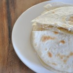 Turkey quesadillas – leftover turkey