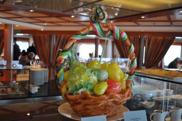 Silent Sunday - amazing food sculptures on the Sebourn - Claire K Creations