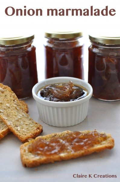 Onion marmalade - Claire K Creations