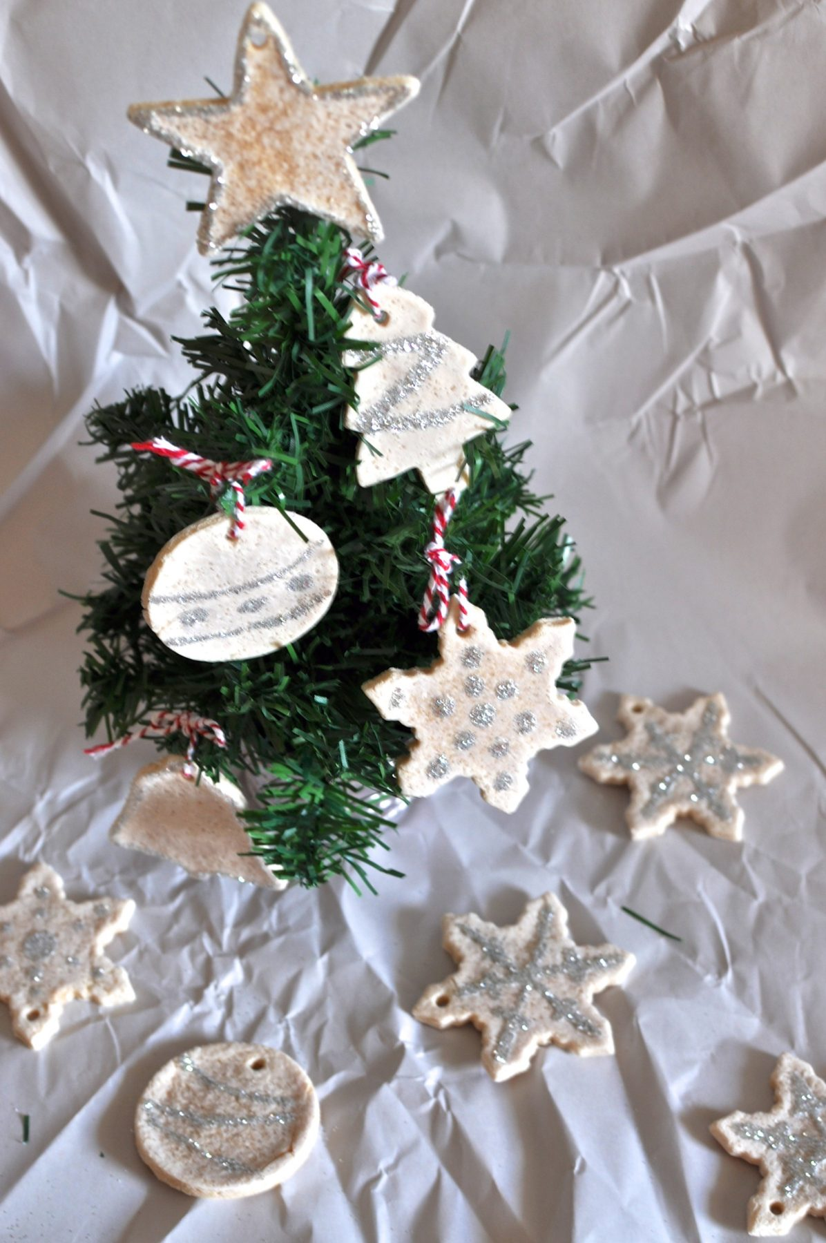 Salt dough gift tags and ornaments - Claire K Creations