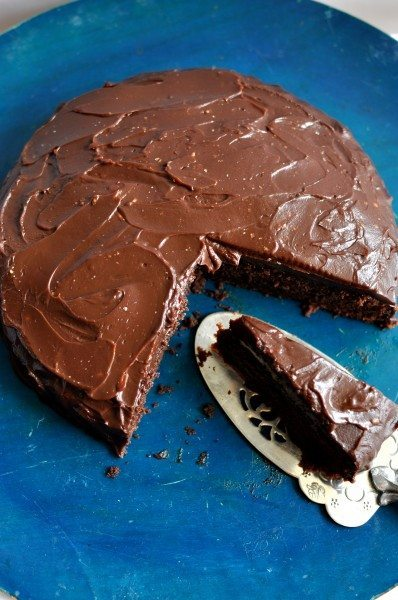 Rich chocolate mudcake