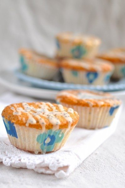 Orange and poppy seed cupcakes