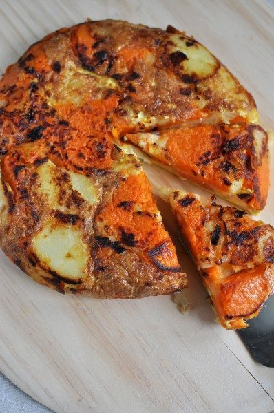 Spanish Omelette With Sweet Potatoes Recipe — Dishmaps