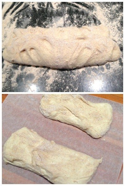 Shaping the rolls