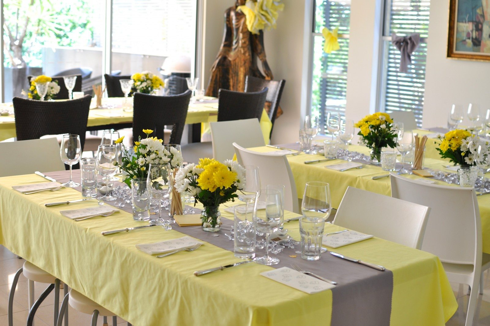 My Grey And Yellow Baby Shower Claire K Creations