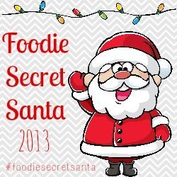 Foodie Secret Santa button
