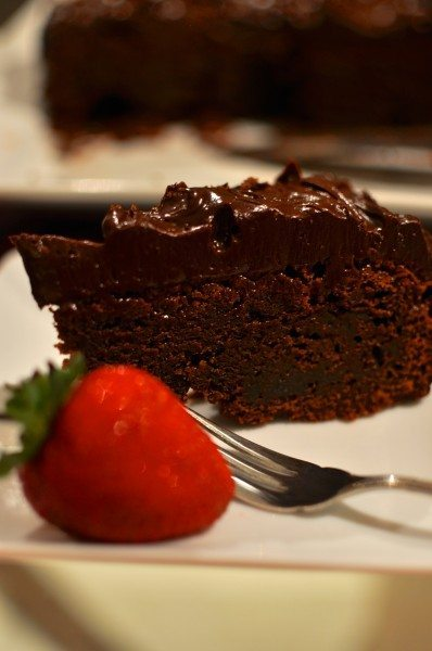 The best ever flourless chocolate cake.jpg