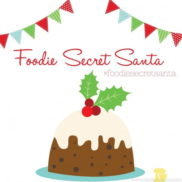 Foodie secret santa via www.clairekcreations.com