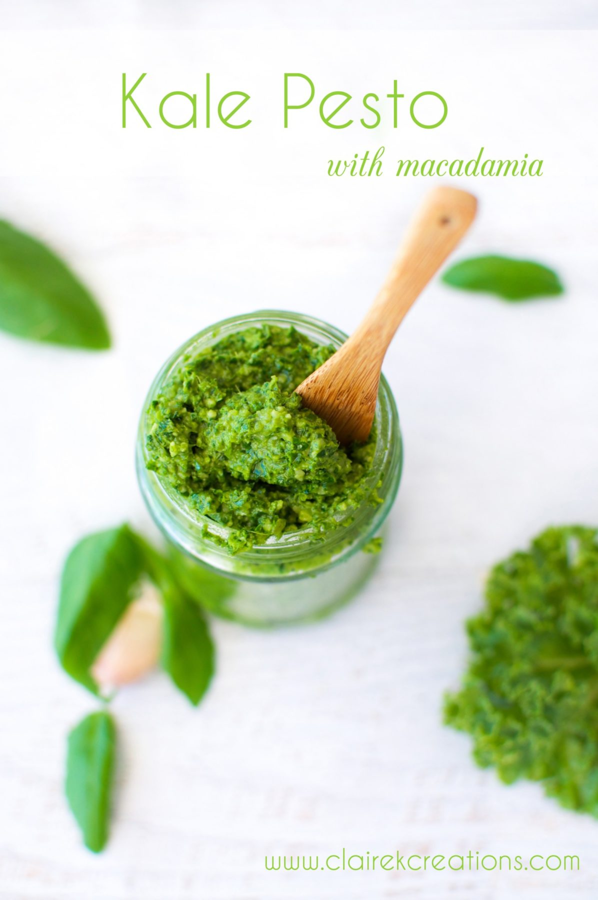 Kale Pesto Recipe — Dishmaps