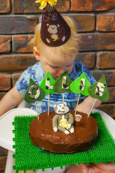 A monkey first Birthday party via www.clairekcreations.com