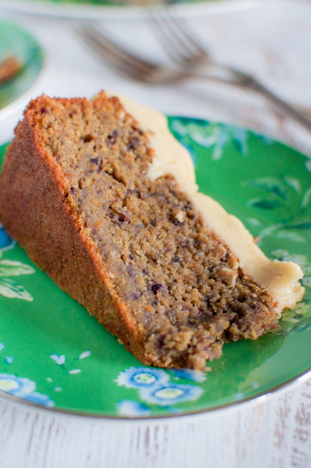 Carrot And Banana Cake With Macadamia Icing Claire K