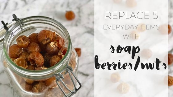 How to use soapberries or soapnuts