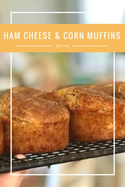 savoury ham cheese and corn muffins 1