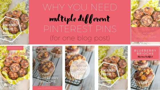 Why you need multiple different Pinterest pins for one blog post