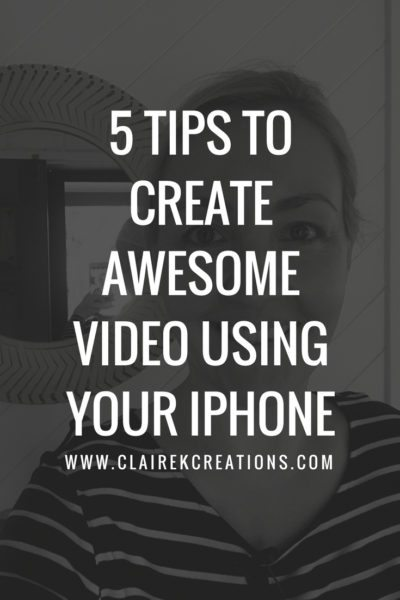 5 tips to create awesome video on your iPhone