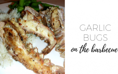 Garlic Bugs on the Barbeque
