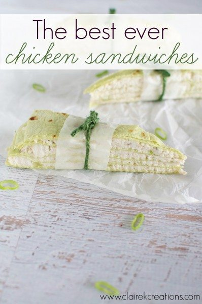 The best ever chicken sandwhich recipe you'll ever try - perfect for parties and can be made ahead and frozen