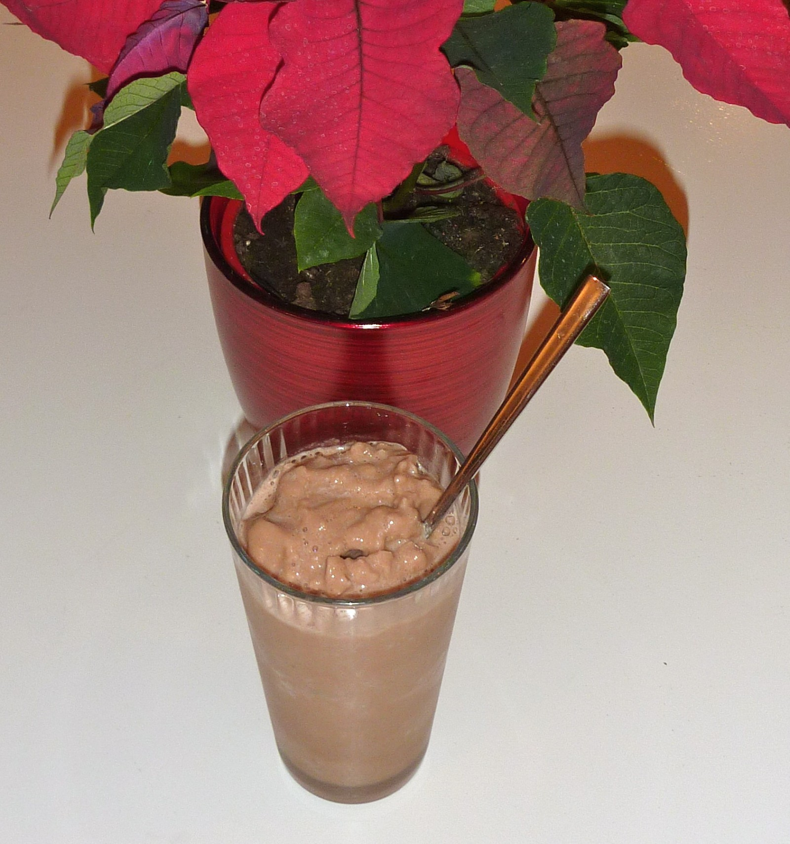 100 calorie chocolate smoothie