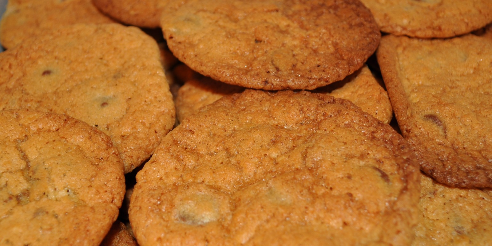 Baked relief – Choc chip cookies