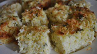 Savoury rice bake