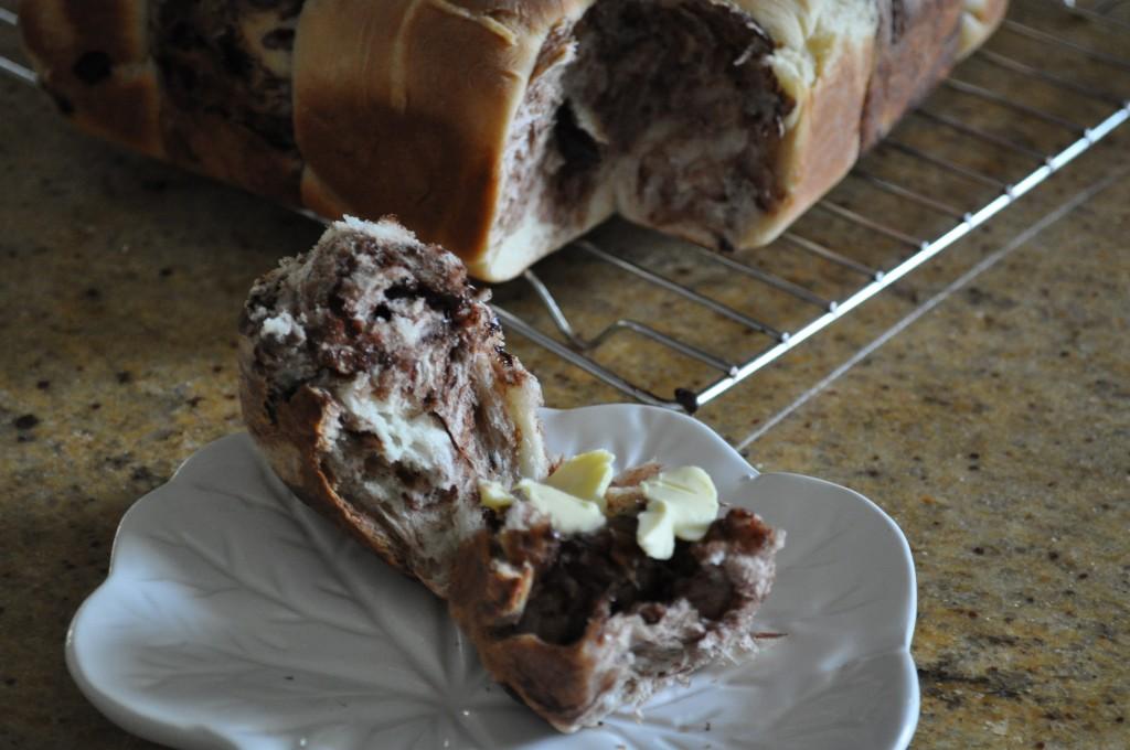 Hot buttered checkerboard hot cross buns