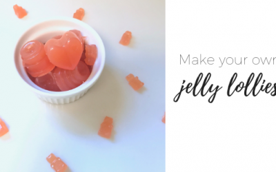 Make your own jelly lollies
