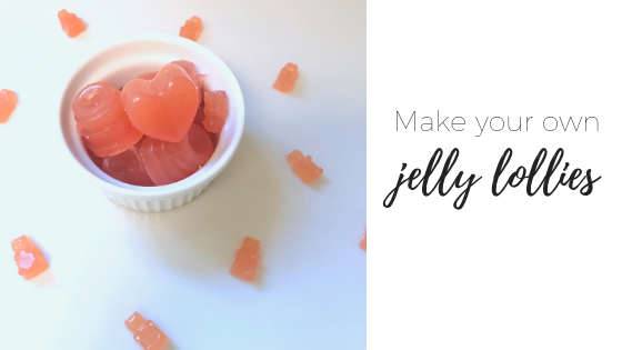 How to make your own jelly lollies or gummies (Thermomix or