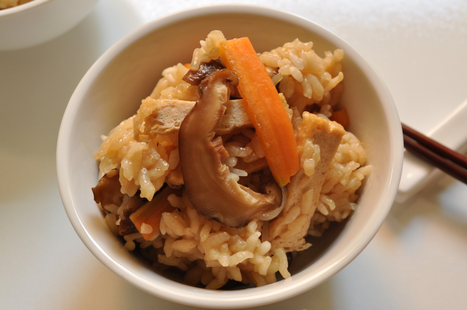 Kayaku gohan (healthy vegetable rice) – the cookbook club