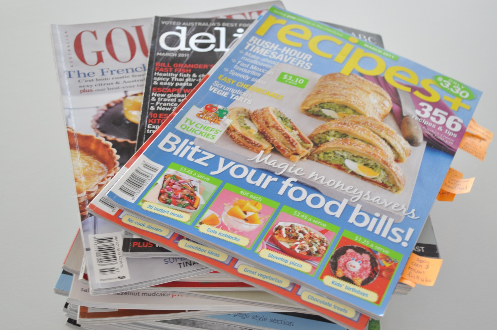 How to organise magazine clippings