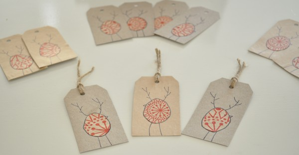 Diy Reinbird Christmas Gift Tags Claire K Creations