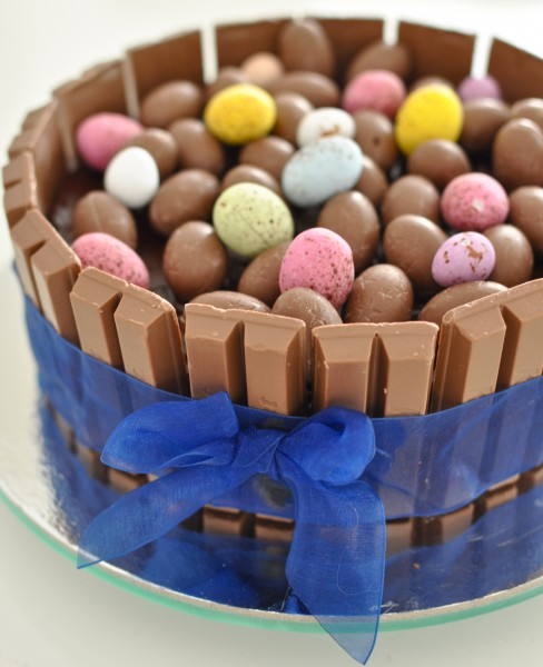 Easter basket cake - Easter recipes