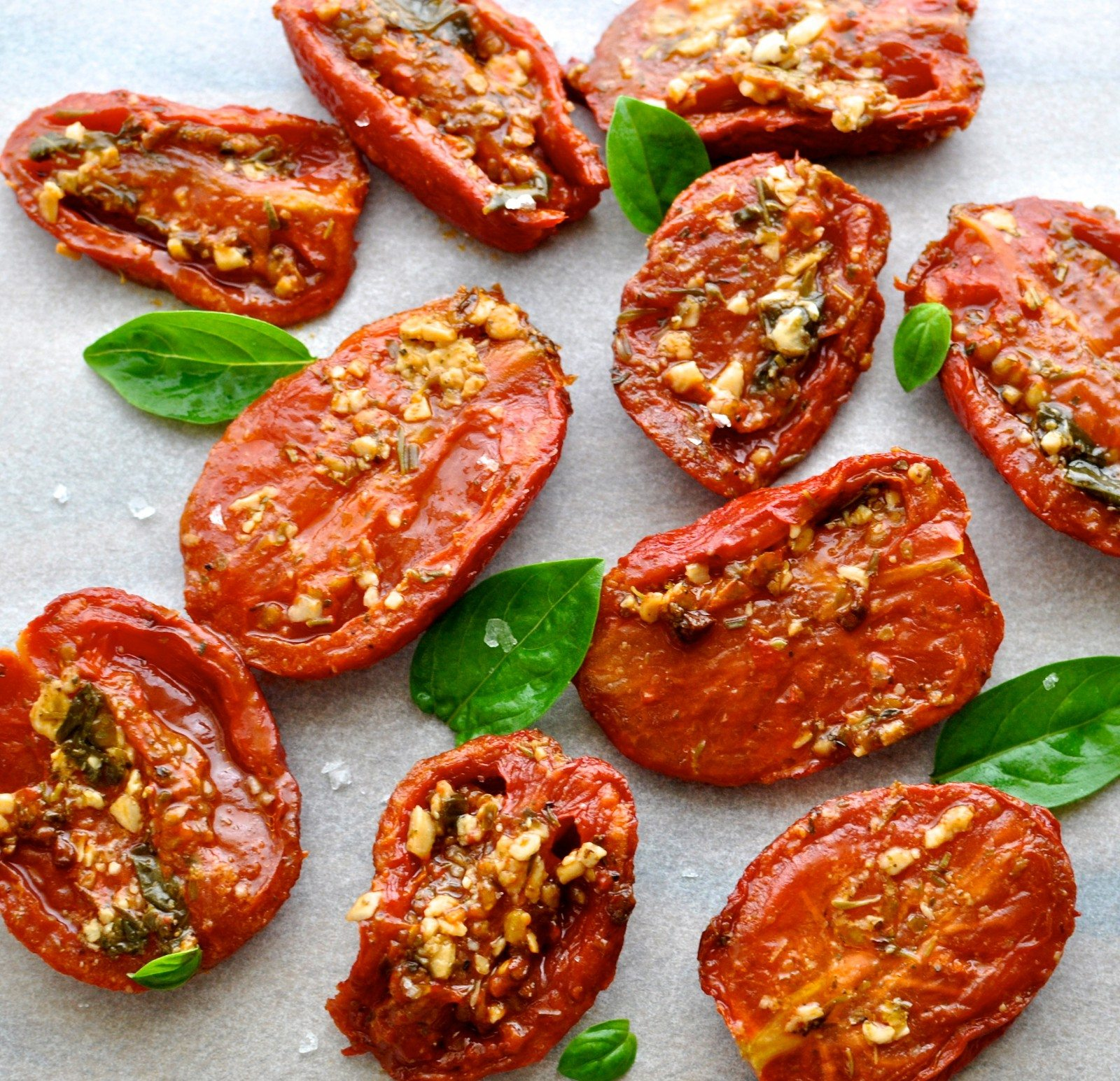 Chris's Italian slow-roasted tomatoes