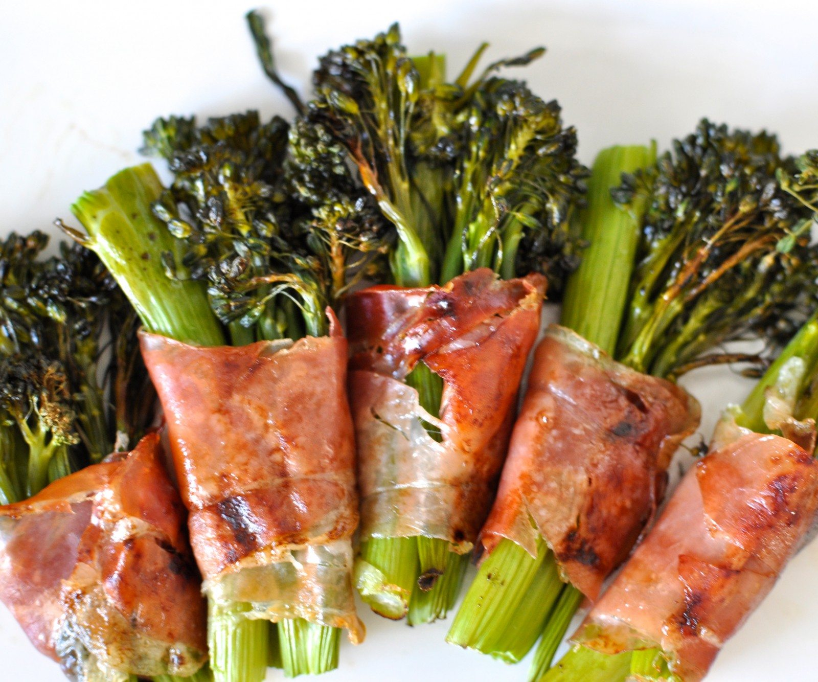 Roast broccolini & prosciutto bundles & win 1 of 5 $100 Woolworths gift vouchers