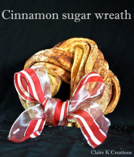 Cinnamon sugar wreath