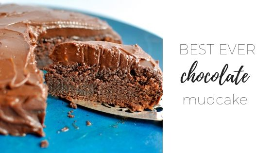 The best ever chocolate mud cake