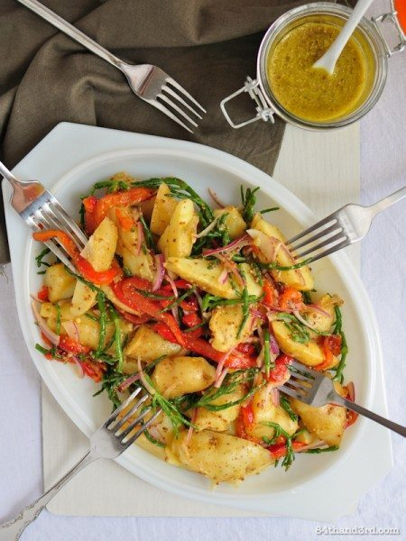 Samphire and Kipfler Potato Salad