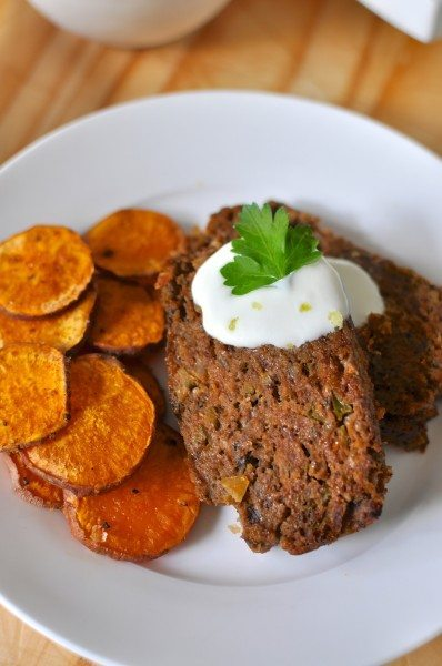 Moroccan meatloaf via www.clairekcreations.com