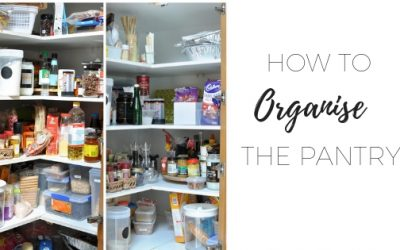 How to organise the pantry