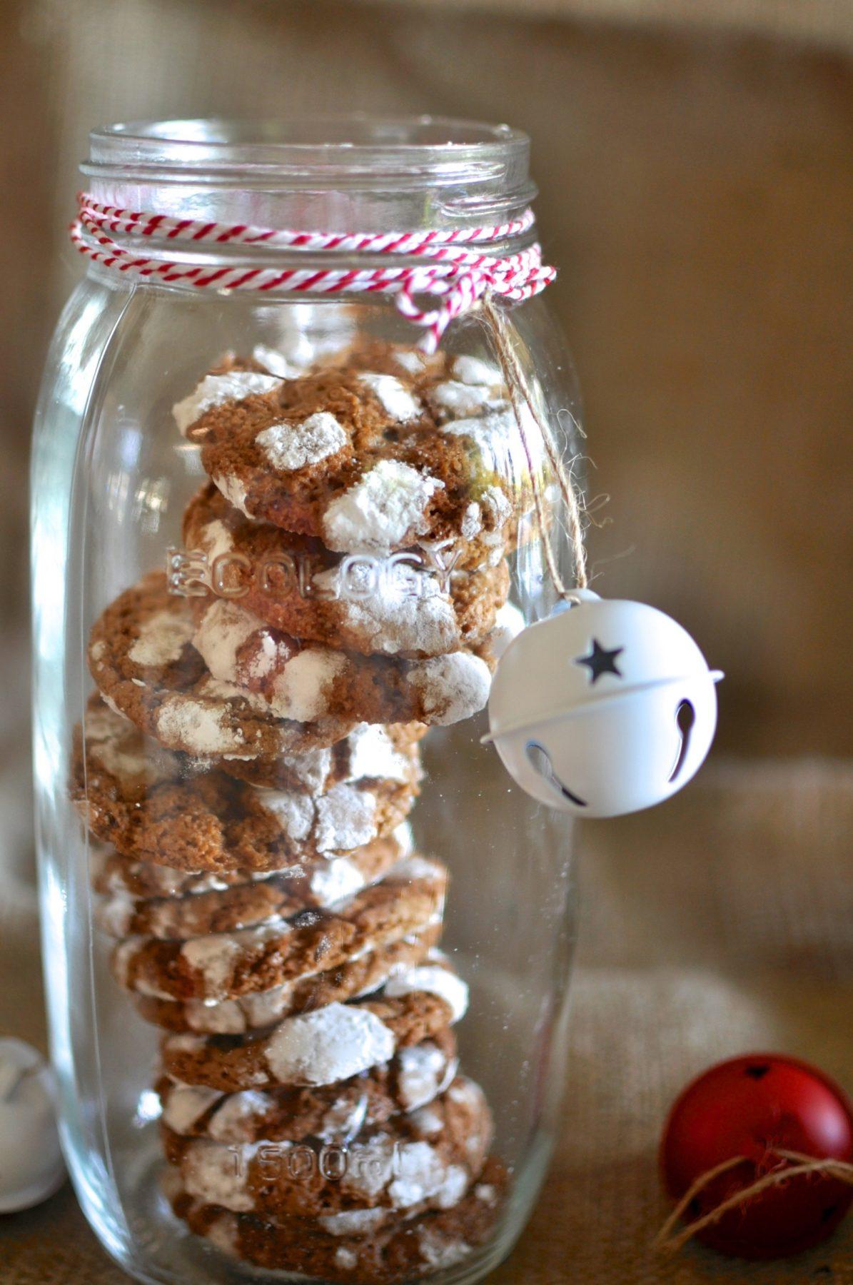 Chocolate crinkle cookies – Foodie Secret Santa