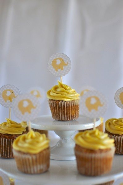The best ever carrot cupcakes