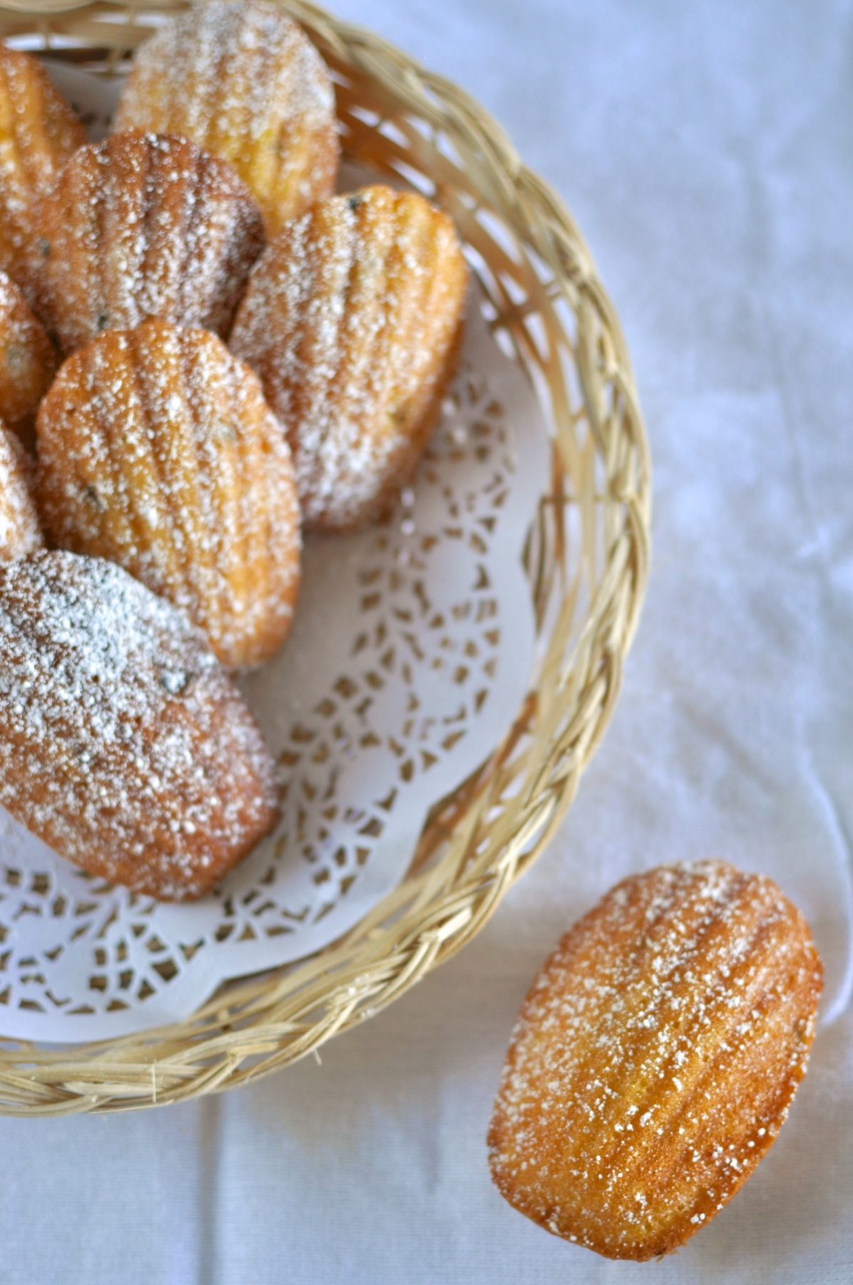 Passionfruit Madeleines - Claire K Creations