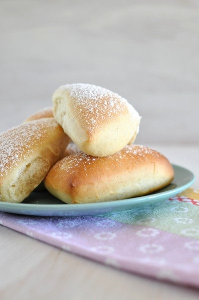 Baked beignets via www.clairekcreations.com