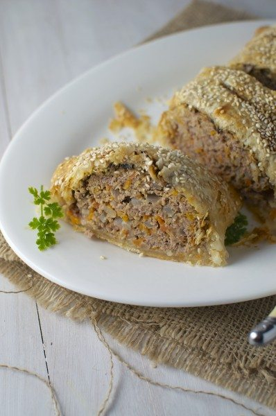 Mince wellington via www.clairekcreations.com