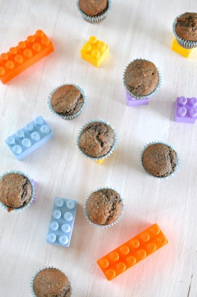Gluten-free banana blueberry muffins www.clairekcreations.com