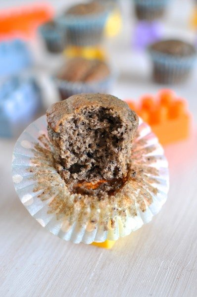 Gluten-free banana blueberry muffins www.clairekcreations.com