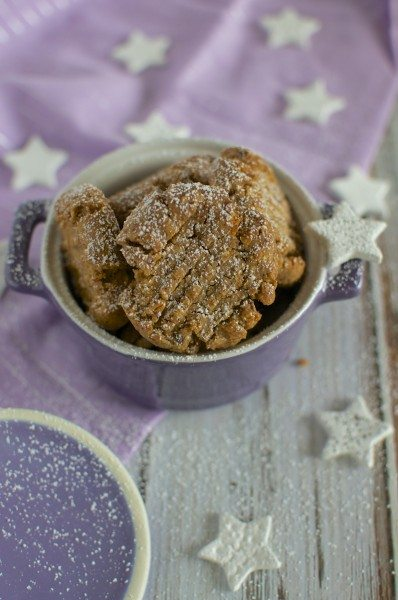 Grain free peanut butter choc chip cookies via www.clairekcreations.com